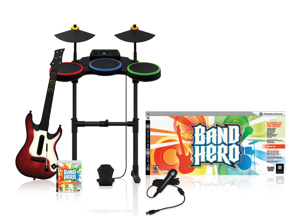 Band Hero game & peripherals