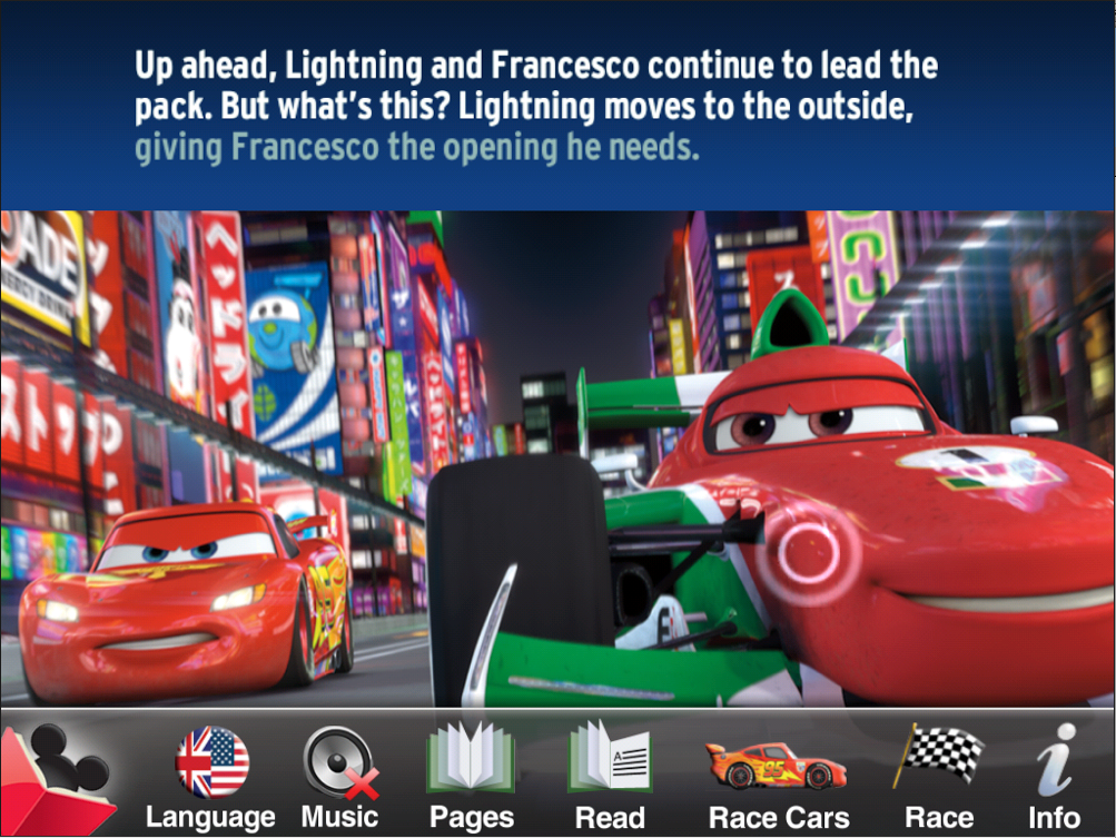 Cars  World Grand Prix Read And Race