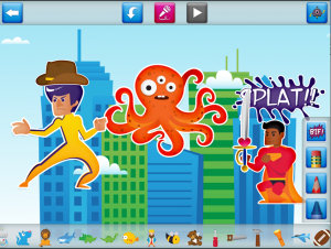 Monsters vs. Superheroes Comic Book Maker | Children's Technology ...