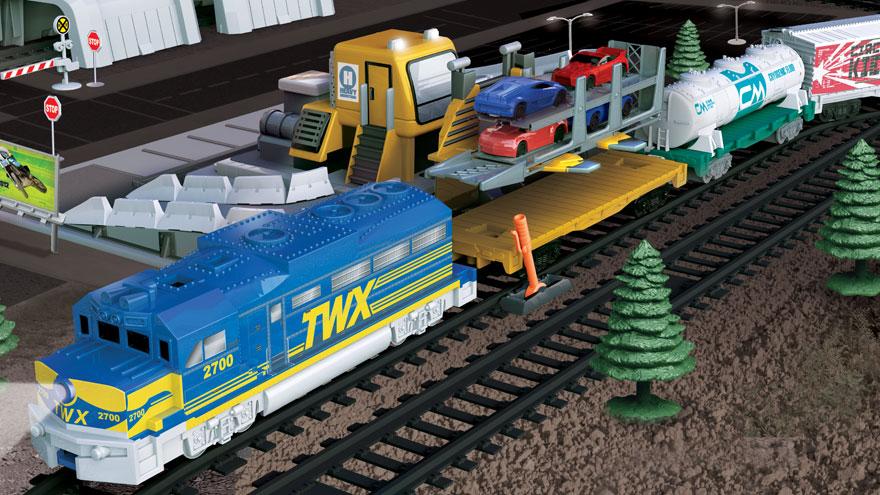 Jakks Pacific Power Trains Auto Loader City | Children's Technology