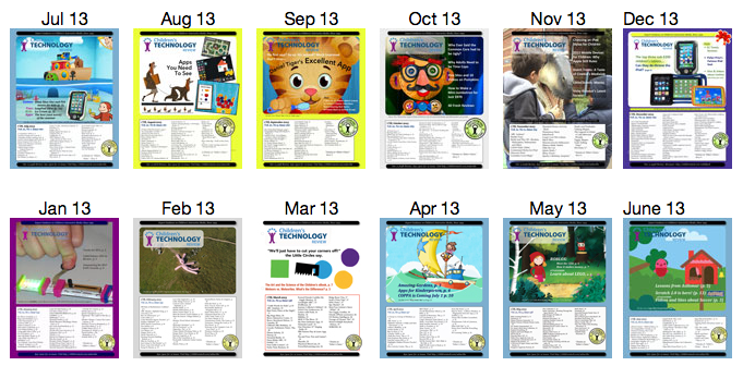 Editorial Calendar Children S Technology Review