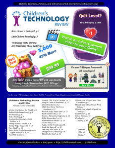 Children's Technology Review April 2016 Volume 24, No. 4, Issue 193